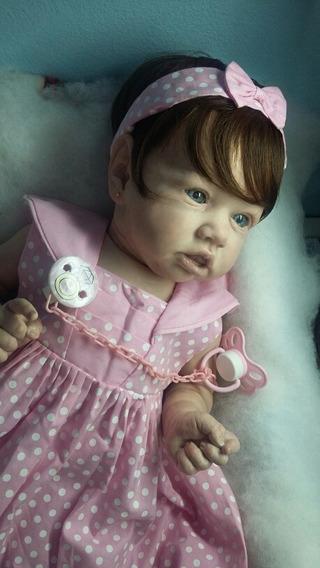 Bebê Reborn Molde Saskia