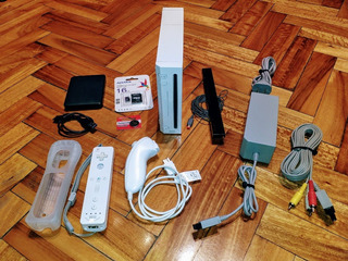 Excelente Nintendo Wii Completa +400 Juegos Wii !! Wiisanfer