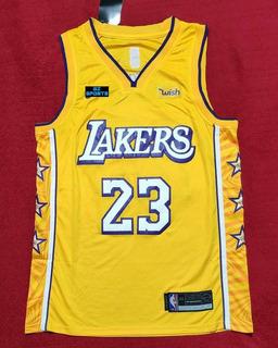 Lebron James #23 La Lakers City New Temp 20 - A Pedido