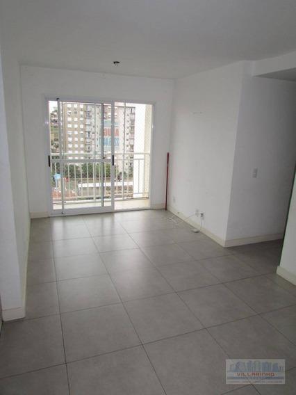 Apartamento Com 3 Dormitórios Para Alugar, 72 M² Por R$ 1.600/mês - Camaquã - Porto Alegre/rs - Ap1319