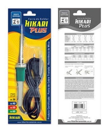 Ferro De Soldar Hikari Power Profissional Sc60 -50w X 220v