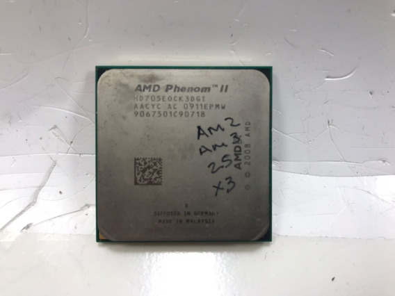 Processador Phenom Ii X3 705e 2.5 Ghz Hd705eock3dgi Am3
