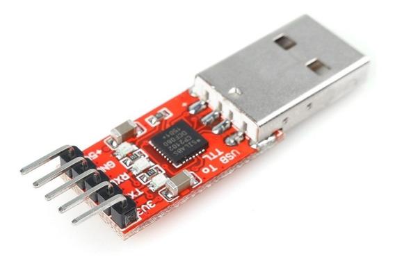 Adaptador Conversor Ttl Usb Cp2102 P/ Arduino Pro Mini