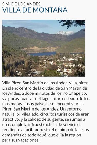 Tiempo Compartido En S. M. De Los Andes, Córdoba, Etc