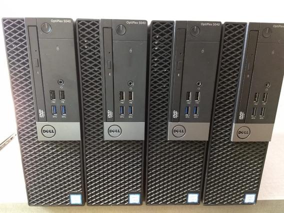 Lote 4 Computadores Dell 5040 I5 6º G. - 8gb - Hd 500 Gb