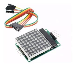 8x Módulo Matriz Led 3mm 8x8 Com Chip Max7219 C/ Nota Fiscal