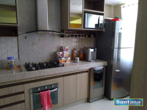 Apartamento Com 3 Dormitórios À Venda, 85 M² Por R$ 310.000,00 - Setor Oeste - Caldas Novas/go - Ap0095