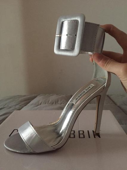 Zapatos Stilettos Plateados Forever 21