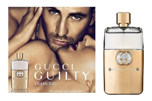 Perfume Hombre Gucci Guilty Diamond Homme  90ml + Re Ga Lo!