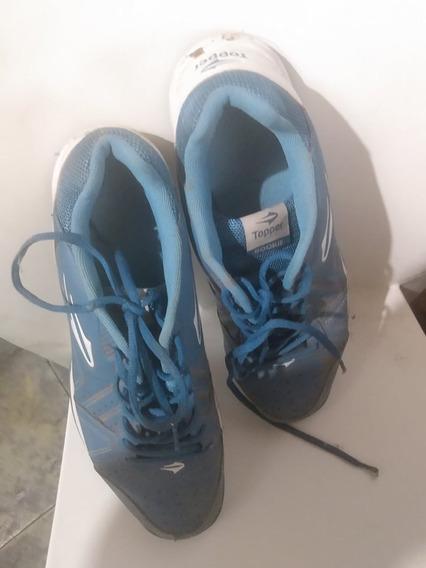 Zapatillas Tenis Topper Casi Nuevas 1 Uso !