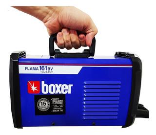 Maquina Solda Flama 161 Bivolt Inversora Portatil Boxer