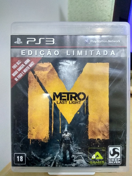 Metro Last Light Ps3 Usado