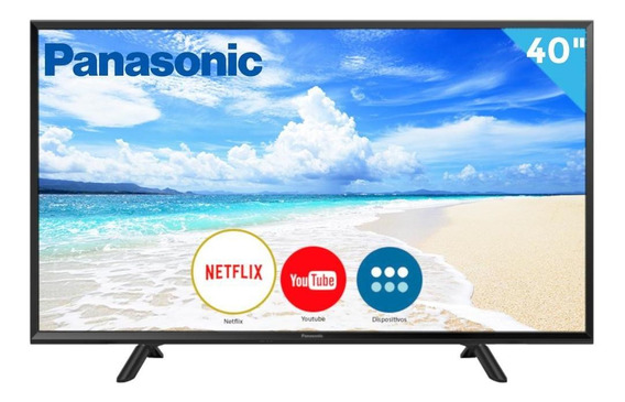 Smart Tv 40 Panasonic Led Fhd Tc-40fs600b 2 Hdmi 1 Usb