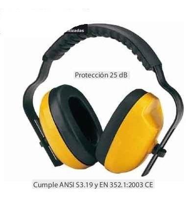 Imagen 1 de 2 de Protección Auditiva Diadema Con Copas Atenuacion Ruido Oidos
