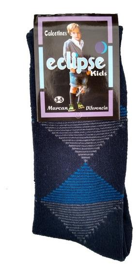 Calcetines Para Niños De Algodón / 6 Pares Calidad Premium