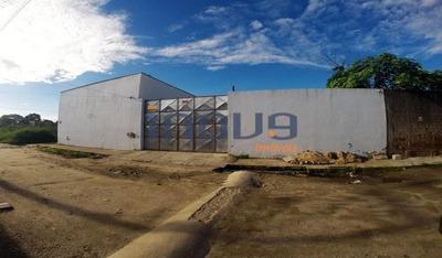 Galpão Comercial À Venda, Mondubim, Fortaleza. - Ga0002