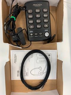 Teléfono Plantronics Con Diadema Práctica T110