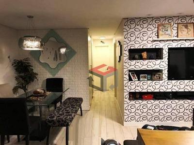 Apartamento Com 3 Dormitórios À Venda, 82 M² Por R$ 535.000 - Fundação - São Caetano Do Sul/sp - Ap59983