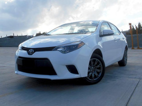 Toyota Corolla Base Mt 2015 Blanco