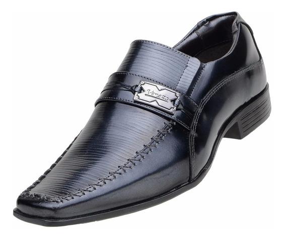 Sapato Social Masculino Venetto Couro Legítimo - 8127 D