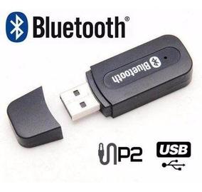 Adaptador Receptor Bluetooth Plug P2 Som Residencial E Som