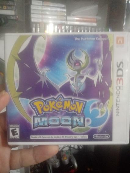 Pokemon Moon 3ds Semi Novo