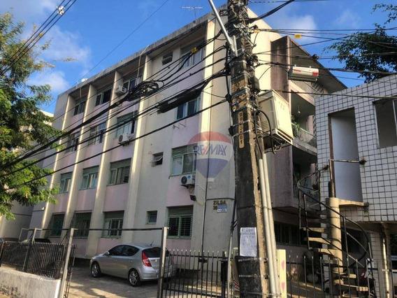 Apartamento 02 Quartos (terreo) - Aflitos - Aluguel - Ap0633