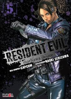 Libro Resident Evil: Marhawa Desire # 05 De 05