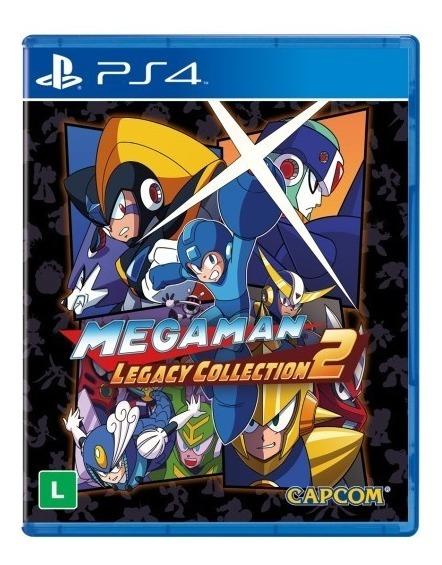 Megaman Legacy 2 Ps4 Lacrado
