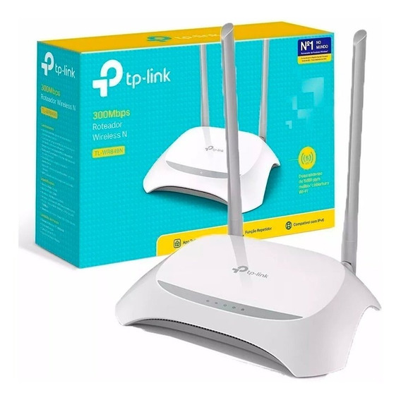 Roteador Wireless 300mbps 849n Tp-link