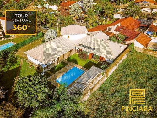 Imagem 1 de 30 de Casa Com 5 Quartos, Sendo 4 Suítes, 600 M² De Construção E 1800 M² De Terreno Por R$ 2.690.000 - Aldeia De Itaipu - Niterói/rj - Ca0154