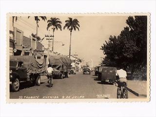 Cartao Postal Fotografico Oficina Dodge Taubate Sp Anos 50