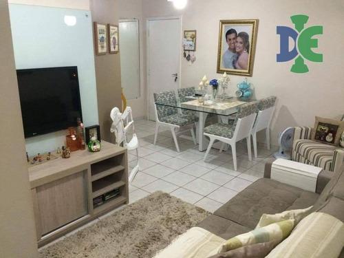 Apartamento Com 2 Dormitórios À Venda, 62 M² Por R$ 230.000 - Jardim Oriente - São José Dos Campos/sp - Ap0229