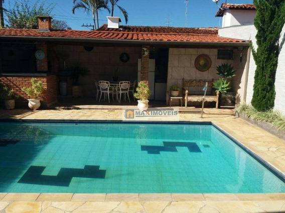 Casa Com 3 Dormitórios À Venda, 200 M² Por R$ - Jardim Paulista - Atibaia/sp - Ca0284