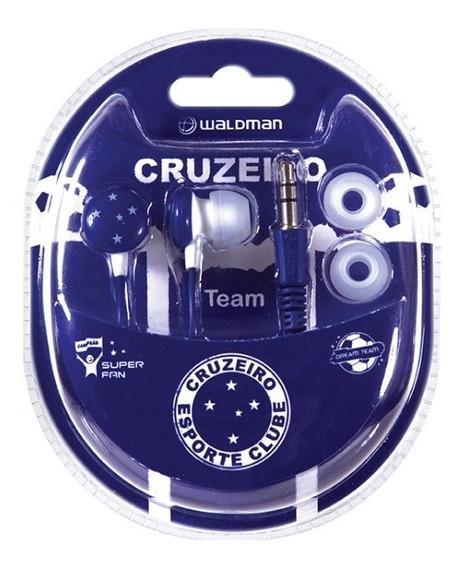 Fone De Ouvido Cruzeiro Super Fan Waldman