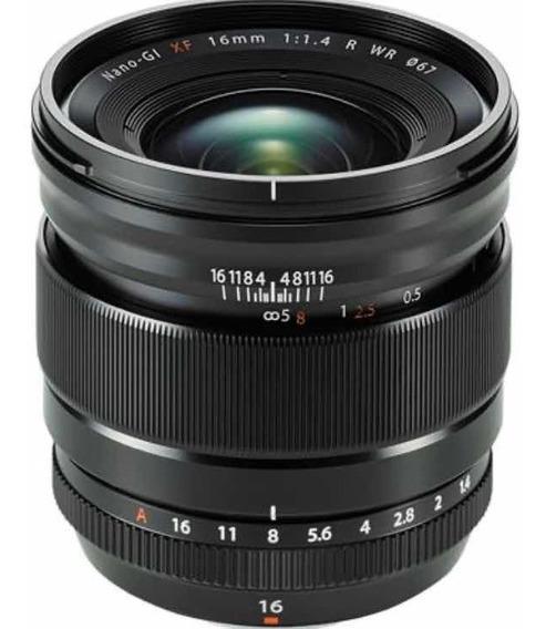 Lente Fujifilm Xf 16mm 1.4