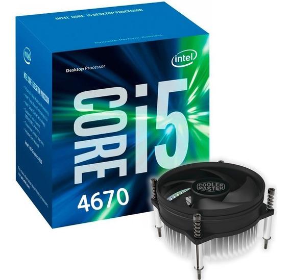 Processador Intel Core I5 4670 3.4 - 3.8 Ghz 1150 4570 4590