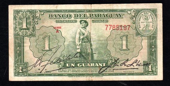 Paraguay Billete 1 Guarani Año 1943 P#178