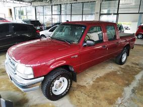 Ford Ranger Cd Xl 2.5 4x4 Tb Diesel 2001 Vermelha
