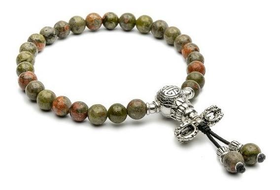 Japamala Pulseira Bracelete Budista Unakita 27 Contas