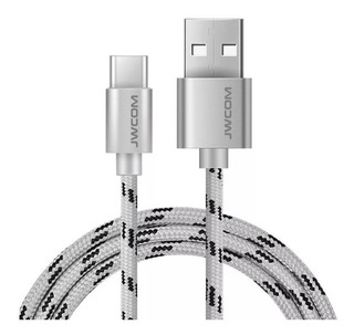 Cabo Dados Usb 2m Type-c Original Jwcom Usb Turbo 2.4a