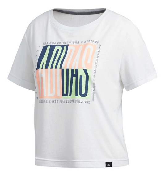 Remera adidas Training Essential Global Citizen Mujer Bl