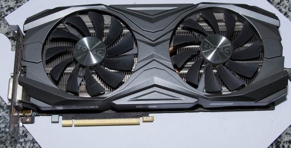 Placa De Video Zotac Geforce Gtx 1070 Ti 8gb Usada