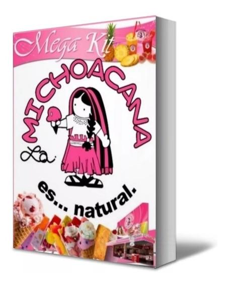 Como Hacer Paletas, Helados Recetas La Michoacana (pdf)