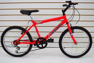 Bicicleta Rodado 20 Mtb Bruzzoni 3 Velocidades