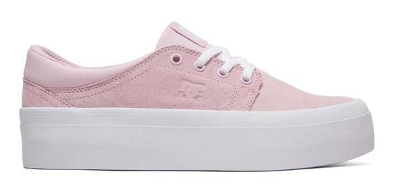 Zapatilla Dc Shoes Trase Plataforma Rosa 1192112141c