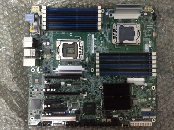 Placa Mãe Intel Dual Xeon Lga 1366 S5520sc Servidor / Workst