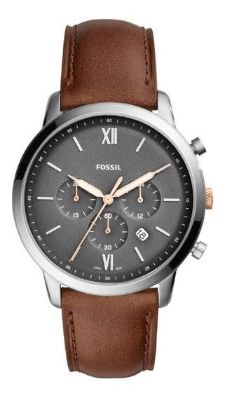 Relógio Fossil Masculino Chrono Fs5408/0mn