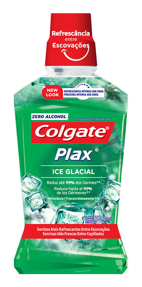 Enjuague Bucal Colgate Plax Ice Glacial 1 Lt