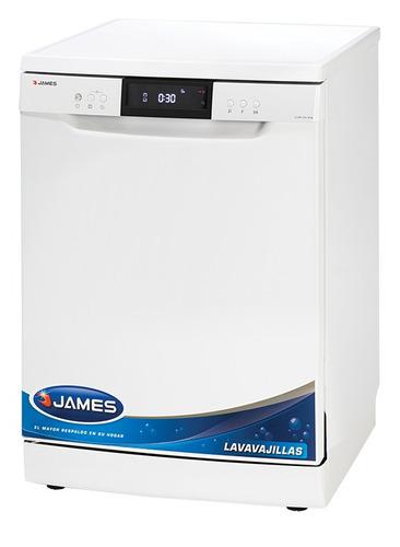 Imagen 1 de 4 de James - Lavavajillas 14 Cubiertos Blanco Nuevo Modelo Bigsal